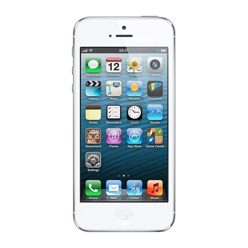 e680de4b87f Apple iPhone 5 16GB (Hvid) - Grade C - Grøn Computer